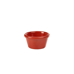 Ramekin 3oz Smooth Red (48 Pack) Ramekin, 3oz, Smooth, Red, Nevilles