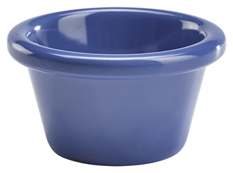 Ramekin 3oz Smooth Blue (48 Pack) Ramekin, 3oz, Smooth, Blue, Nevilles