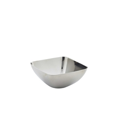 Stainless Steel Square Snack Bowl 18cl/6.25oz (Each) Stainless, Steel, Square, Snack, Bowl, 18cl/6.25oz, Nevilles