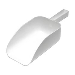 All Purpose White Scoop 9, 2 1/4L Cap (Each) All, Purpose, White, Scoop, 9,, 2, 1/4L, Cap, Nevilles