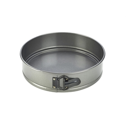 Carbon Steel Non-Stick Spring Form Cake Tin (Each) Carbon, Steel, Non-Stick, Spring, Form, Cake, Tin, Nevilles