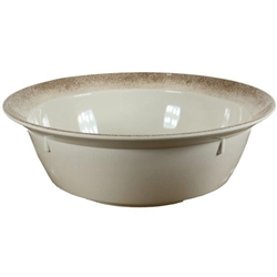 320 oz / 9.5 Ltr Bowl, 18? X 6? / 455mm X 150mm Deep, (496 oz / 14.7Ltr Rim-Full), Jazz (Single)