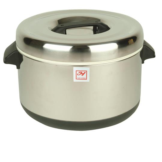 Insulated Sushi Pot - Stainless Steel - 40 cups