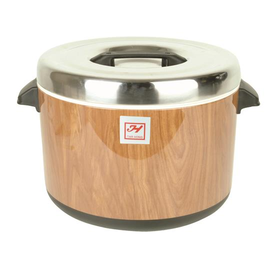 Insulated Sushi Pot - Wood Grain - 60 cups