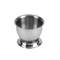 "51mm x 38mm / 2"" x 1 1/2"" H  Egg Cup, Stainless Steel"