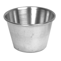 74ml / 2.5 oz Stainless Sauce Cup