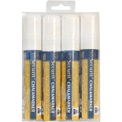 Chalkmarkers 4 Pack White Large (Each) Chalkmarkers, 4, Pack, White, Large, Nevilles
