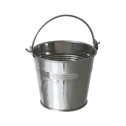 Stainless Steel Serving Bucket 10cm Diameter (Each) Stainless, Steel, Serving, Bucket, 10cm, Diameter, Nevilles