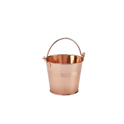 Stainless Steel Serving Bucket 10cm Diameter Copper (Each) Stainless, Steel, Serving, Bucket, 10cm, Diameter, Copper, Nevilles