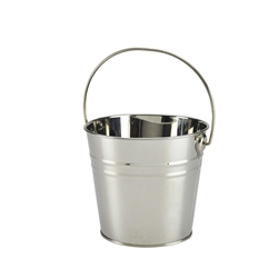 Stainless Steel Serving Bucket 16cm Diameter (Each) Stainless, Steel, Serving, Bucket, 16cm, Diameter, Nevilles