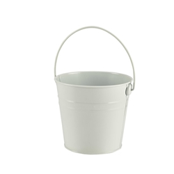 Stainless Steel Serving Bucket 16cm Diameter White (Each) Stainless, Steel, Serving, Bucket, 16cm, Diameter, White, Nevilles