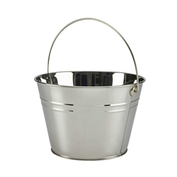 Stainless Steel Serving Bucket 25cm Diameter (Each) Stainless, Steel, Serving, Bucket, 25cm, Diameter, Nevilles