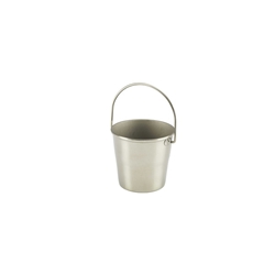 Stainless Steel Miniature Bucket 4.5cm Diameter (Each) Stainless, Steel, Miniature, Bucket, 4.5cm, Diameter, Nevilles