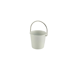 Stainless Steel Miniature Bucket 4.5cm Diameter White (Each) Stainless, Steel, Miniature, Bucket, 4.5cm, Diameter, White, Nevilles