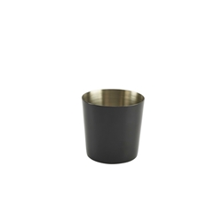 S/St. Serving Cup 8.5 x 8.5cm Black (Each) S/St., Serving, Cup, 8.5, 8.5cm, Black, Nevilles