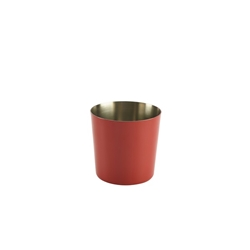 S/St. Serving Cup 8.5 x 8.5cm Red (Each) S/St., Serving, Cup, 8.5, 8.5cm, Red, Nevilles