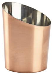 Copper Plated Angled Cone 11.6 x 9.5cm Diameter (Each) Copper, Plated, Angled, Cone, 11.6, 9.5cm, Diameter, Nevilles