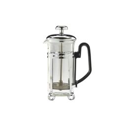 3-Cup Economy Cafetiere Chrome 11oz 300Ml (Each) 3-Cup, Economy, Cafetiere, Chrome, 11oz, 300Ml, Nevilles