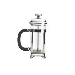 3 Cup Cafetiere Chrome Pyrex 350Ml (Each) 3, Cup, Cafetiere, Chrome, Pyrex, 350Ml, Nevilles