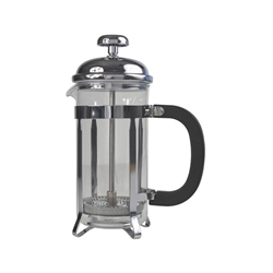 12 Cup Cafetiere Chrome Pyrex 48oz 1.5 Litre (Each) 12, Cup, Cafetiere, Chrome, Pyrex, 48oz, 1.5, Litre, Nevilles