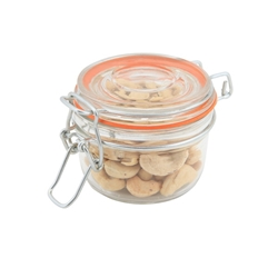 Genware Glass Terrine Jar 125ml 8.1 x 6.5cm (Each) Genware, Glass, Terrine, Jar, 125ml, 8.1, 6.5cm, Nevilles