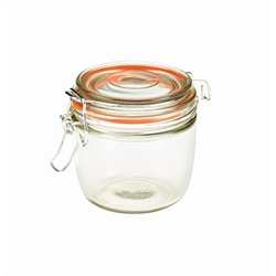 Genware Glass Terrine Jar 350ml 9.5 x 9cm (Each) Genware, Glass, Terrine, Jar, 350ml, 9.5, 9cm, Nevilles