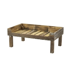 Rustic Wooden Display Crate Stand (Each) Rustic, Wooden, Display, Crate, Stand, Nevilles