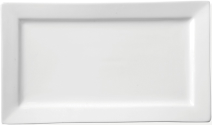 "Rectangular Plate 12"" x 7"" / 30 x 18cm (12 Pack)"