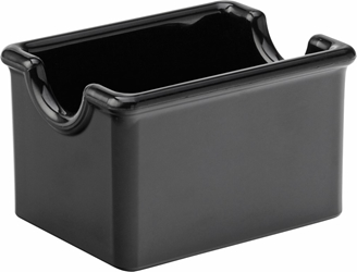 "Black Sugar Caddy 3.5 x 2.5"" / 9.5 x 7cm (24 Pack)"