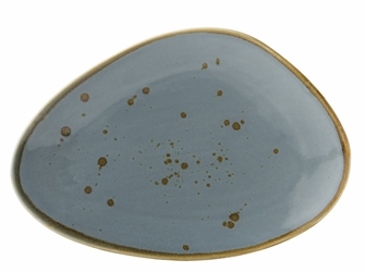 "Earth Thistle Oblong Plate 11.5"" / 29cm (6 Pack)"
