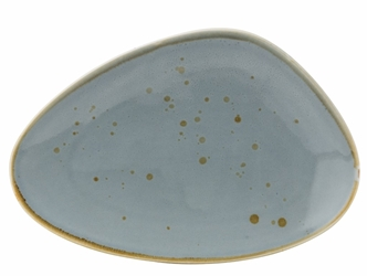 "Earth Thistle Oblong Plate 10"" / 25cm (6 Pack)"