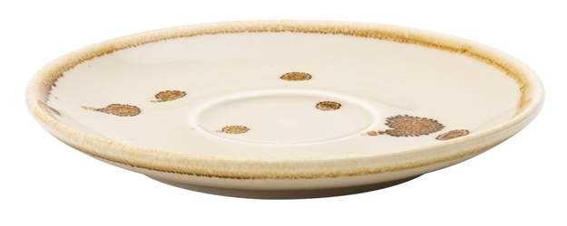 "Earth Linen Saucer 5.5"" / 14cm (6 Pack)"