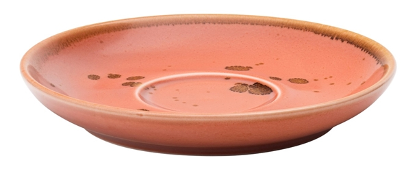 "Earth Cinnamon Saucer 6.25"" / 16cm (6 Pack)"