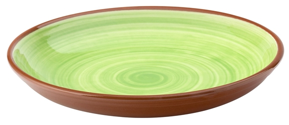 "Salsa Green Coupe Bowl 9.5"" / 24cm (12 Pack)"
