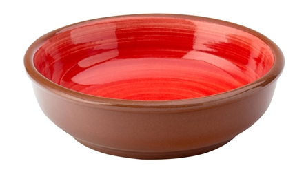 "Salsa Red Dish 5.5"" / 14cm (12 Pack)"