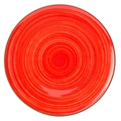 "Salsa Red Plate 11"" / 28cm (12 Pack)"