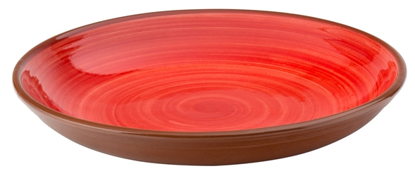 "Salsa Red Coupe Bowl 9.5"" / 24cm (12 Pack)"