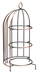 "Birdcage Plate Stand 14.5"" / 37cm - to hold 3 x 23cm Plates (each)"
