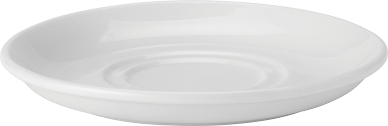 "Double Well Saucer 6"" / 15cm (24 Pack)"