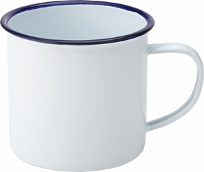 "Eagle Enamel Mug 13.5oz / 38cl 3"" / 8cm (6 Pack)"