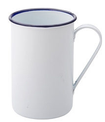 "Eagle Enamel Tall Mug 15.75oz / 45cl 3"" / 8cm (6 Pack)"