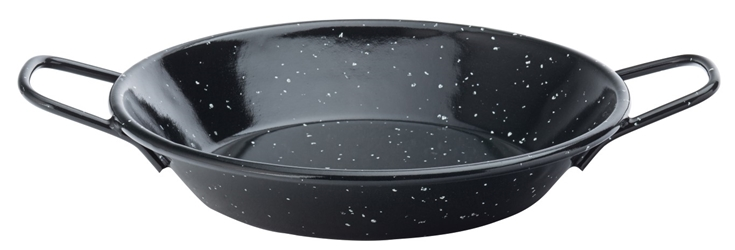 "Eagle Enamel Speckled Pan 6.25"" / 16cm (12 Pack)"