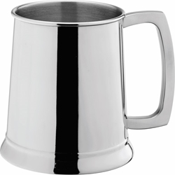 Stainless Steel Handled Tankard 20oz / 58cl CE (12 Pack)