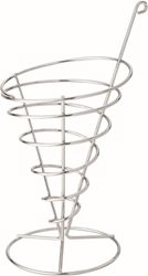 "Wire Cone 4.75"" / 12cm H: 8.75"" / 22cm (6 Pack)"