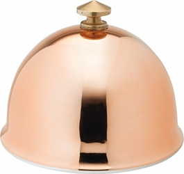 "Copper Dome for Butter Dish 3"" / 8cm (6 Pack)"