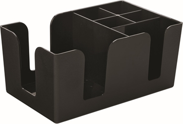 "Bar Caddy Black 9.5 x 5.75"" / 24.5 x 15cm (12 Pack)"