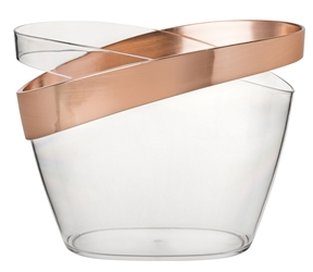 "Copper Banded Champagne Bucket 12"" / 30.5cm (2 Pack)"