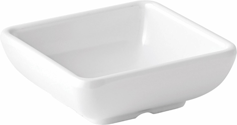 "Shallow Square Dish 3"" / 7.5cm 2.75oz / 8cl (12 Pack)"