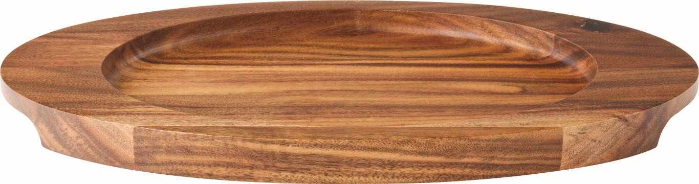 "Oval Wood Board 12 x 7"" / 30.5 x 17.5cm (6 Pack)"