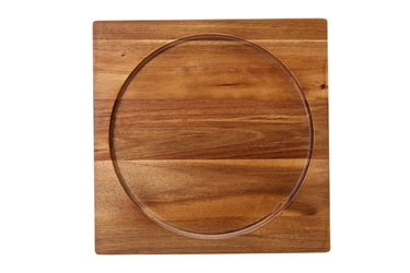 "Acacia Presentation/Pizza Board 12"" / 30cm - fits K162928 (6 Pack)"